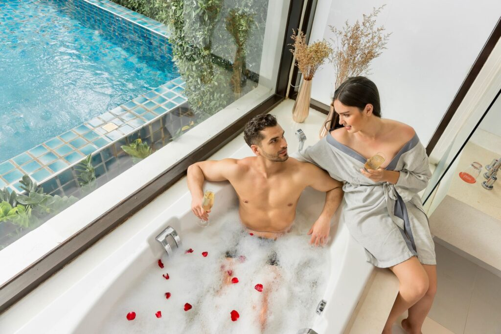 Zen JAcuzzi Plus Room Pool villa The rock hua hin